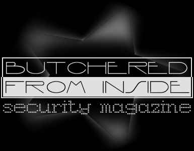 bUTCHERED fRO iNSiDE - Security agazine
